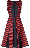 Michael Kors Kneelength Dress - Lyst