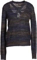 Theyskens' Theory Long Sleeve Sweater - Lyst