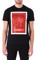 Givenchy Organza Overlay Print T-shirt - Lyst