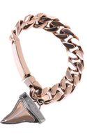 Givenchy Shark Tooth Charm Chain Bracelet - Lyst