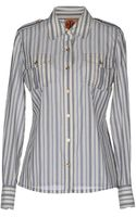 Tory Burch Long Sleeve Shirt - Lyst