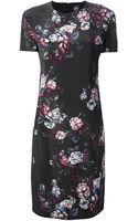 McQ by Alexander McQueen Floral Dress - Lyst