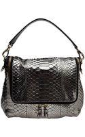 Anya Hindmarch Python Shoulder Bag - Lyst