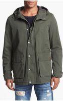 Ben Sherman Hooded Jacket - Lyst