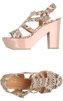 Kurt Geiger Platform Sandals - Lyst
