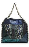 Stella McCartney Falabella Patchwork Bag - Lyst