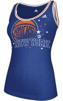 Adidas Scoop Neck Tank Top Knicks - Lyst