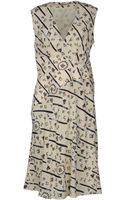 Balenciaga Kneelength Dress - Lyst