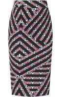 Topshop Maternity Printed Tube Skirt - Lyst