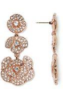 Kate Spade Disco Pansy Chandelier Earrings - Lyst