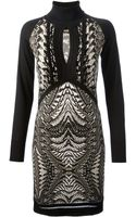 Roberto Cavalli Printed Dress - Lyst