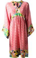 Duro Olowu Vintage Floral Print Tunic Dress - Lyst