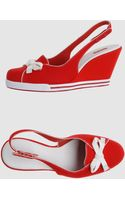 Lacoste Wedge - Lyst