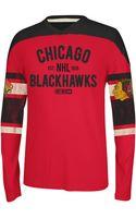 Reebok Nhl Chicago Blackhawks Crewneck - Lyst