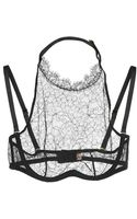 Agent Provocateur Anoushka Halterneck Lace Underwired Bra - Lyst