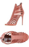 Tabitha Simmons Highheeled Sandals - Lyst