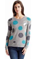 Kensie Dot Sweater - Lyst