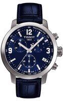Tissot Mens Prc 200 Blue Chronograph Quartz Sport Watch - Lyst