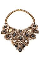 Aerin Erickson Beamon Crystal Bib Necklace - Lyst