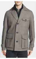 Boss Orange Opolice Wool Blend Coat - Lyst