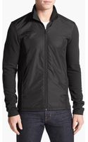 Michael Kors Nylon Front Full Zip Sweatshirt - Lyst