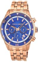 Vince Camuto Mens Rose Goldtone Stainless Steel Bracelet Watch 45mm Vc - Lyst