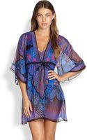 Gottex Swim Ipanema Silk Coverup Dress - Lyst