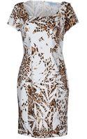 Blumarine Short Dress - Lyst