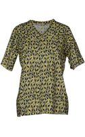 Marni Short Sleeve T-Shirt - Lyst