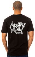 Obey The Death By Metal Tee - Lyst