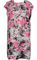 Roberto Collina Short Dress - Lyst