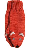 H&M Knitted Mittens - Lyst