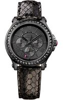 Juicy Couture Pedigree Watch with Embossed Leather Strap - Lyst