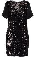 Plein Sud Jeanius Shimmer Sequin Short Dresses - Lyst