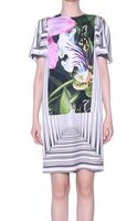 Peter Pilotto Orchid Printed Romy Silk Dress - Lyst