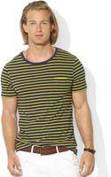Ralph Lauren Polo Striped Jersey Tshirt - Lyst
