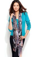 Collection Xiix Tribal Snake Print Wrap - Lyst