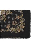 Alexander McQueen Printed Modal and Cashmereblend Scarf - Lyst