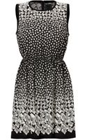 Anna Sui Optical Print Dress - Lyst