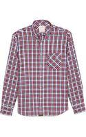 Billy Reid Walland Small Plaid Sport Shirt - Lyst