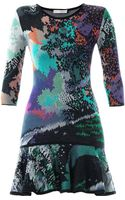 Mary Katrantzou Flick Fauwinding Print Dress - Lyst