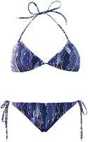 Matthew Williamson Escape Exotic skin Camoprint Bikini - Lyst