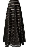 Temperley London Satin And Tulle Maxi Skirt - Lyst