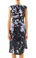 Vivienne Westwood Anglomania Prophecy Cracking print Dress - Lyst