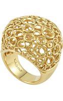 Lagos 18k Gold Circle Filigree Ring - Lyst