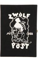 Olympia Le-Tan Zwolf Box Clutch - Lyst