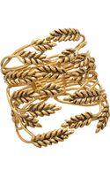 Aurelie Bidermann Gold Wheat Cuff - Lyst
