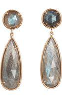 Irene Neuwirth Labradorite Double Drop Earrings - Lyst