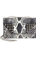 Saint Laurent Python Multistud Betty Mini Bag - Lyst