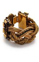 Erickson Beamon Velocity Crystal Embellished Bracelet - Lyst